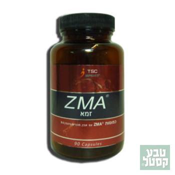 כדורי ZMA של חברת TSC, 90 כמוסות