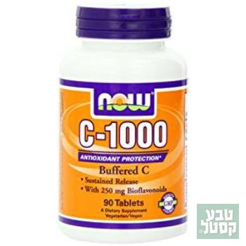 1000-C נטול חומצה- NOW