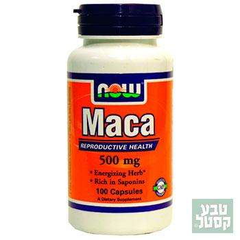 MACA 500MG 100CAP NOW - מאקה