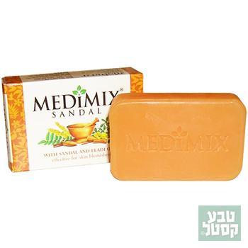 סבון איורודי סנדל 75 גרם מדימיקס
