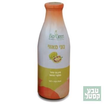 מיץ נוני טהור אורגני 1 ליטר BIO GREEN