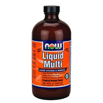 NOW מולטי ויטמין נוזלי
