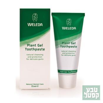 משחת שיניים צמחית