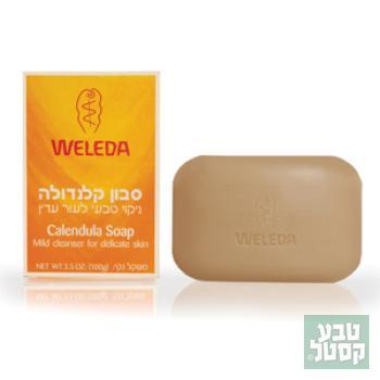 סבון מוצק קלנדולה 100 גרם WELEDA
